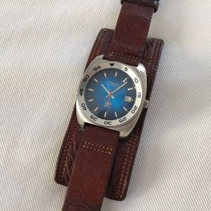 Fossil 100 Meters 'Blue' Watch